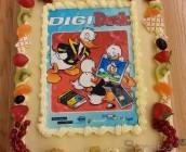 Lekkere taart bij lancering DigiDuck