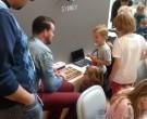 Olaf de Groot (Kennisnet) legt enthousiast uit hoe litteBits werkt